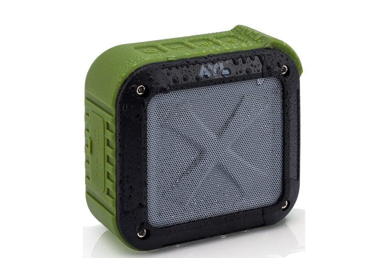 Shower speaker.