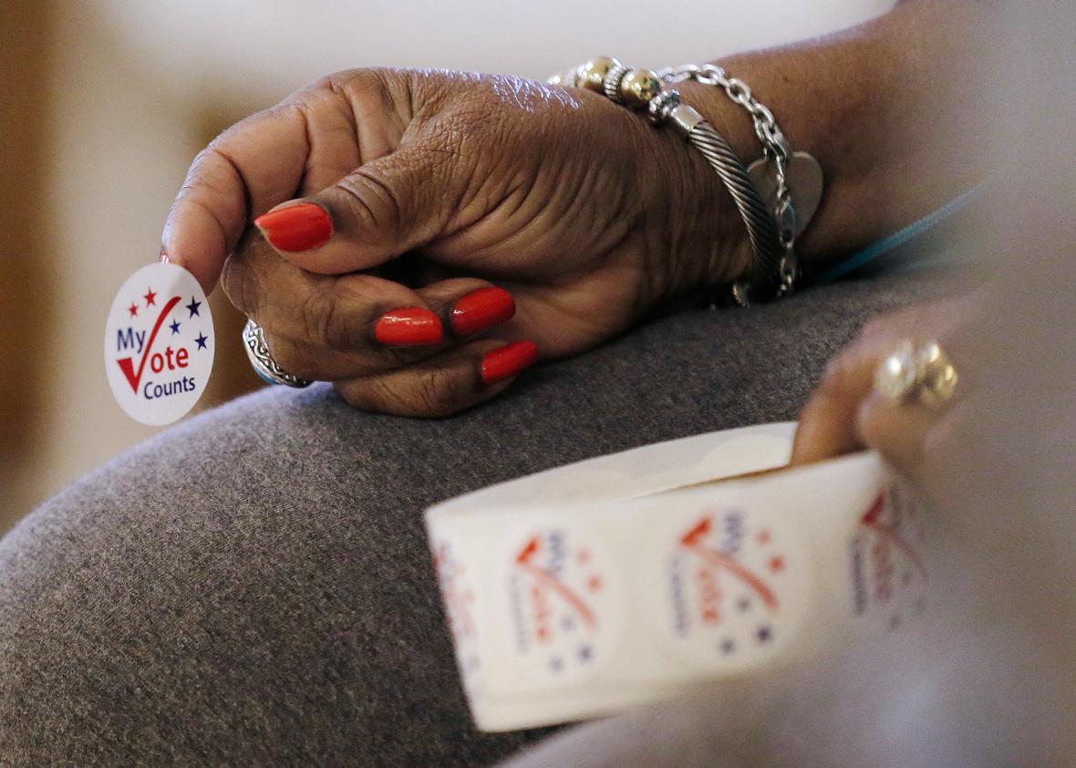 Princeton, North Carolina voting