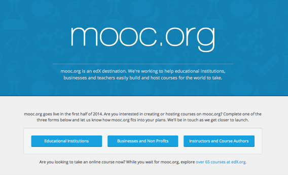 Mooc.org, the new online-courses site from Google and EdX.