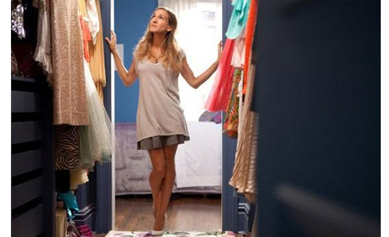 Still of Sarah Jessica Parker in Sex and the City 2.