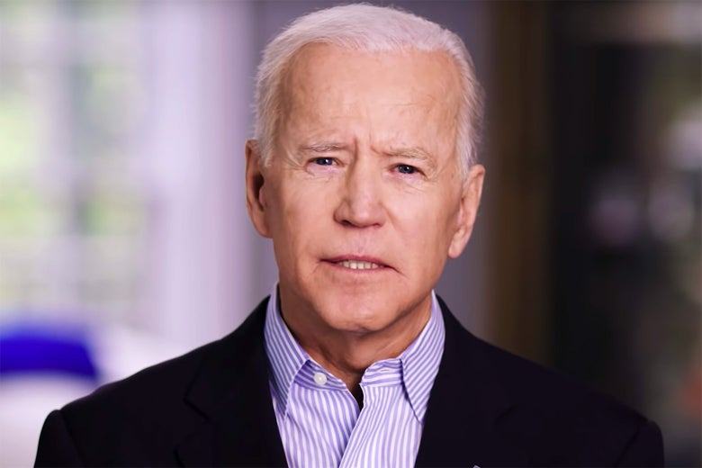 Still from Joe Biden 2020 announcement.