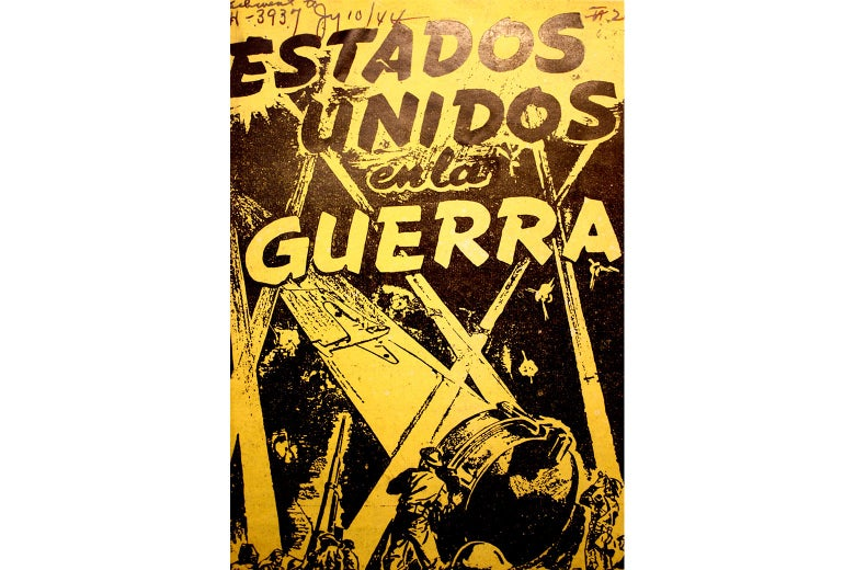 The yellow cover of a Spanish language comic.
