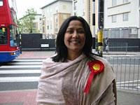 Brent East's Labor candidate Yasmin Qureshi