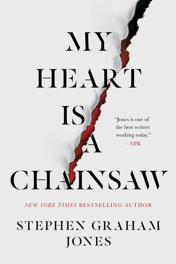 Book cover for My Heart Is a Chainsaw