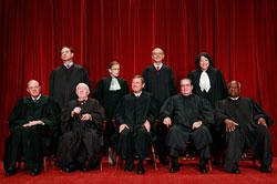 Supreme Court justices. Click image to expand.