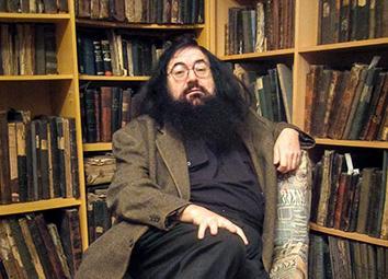 Jewish activist Dovid Katz, Vilnius, November 2013.