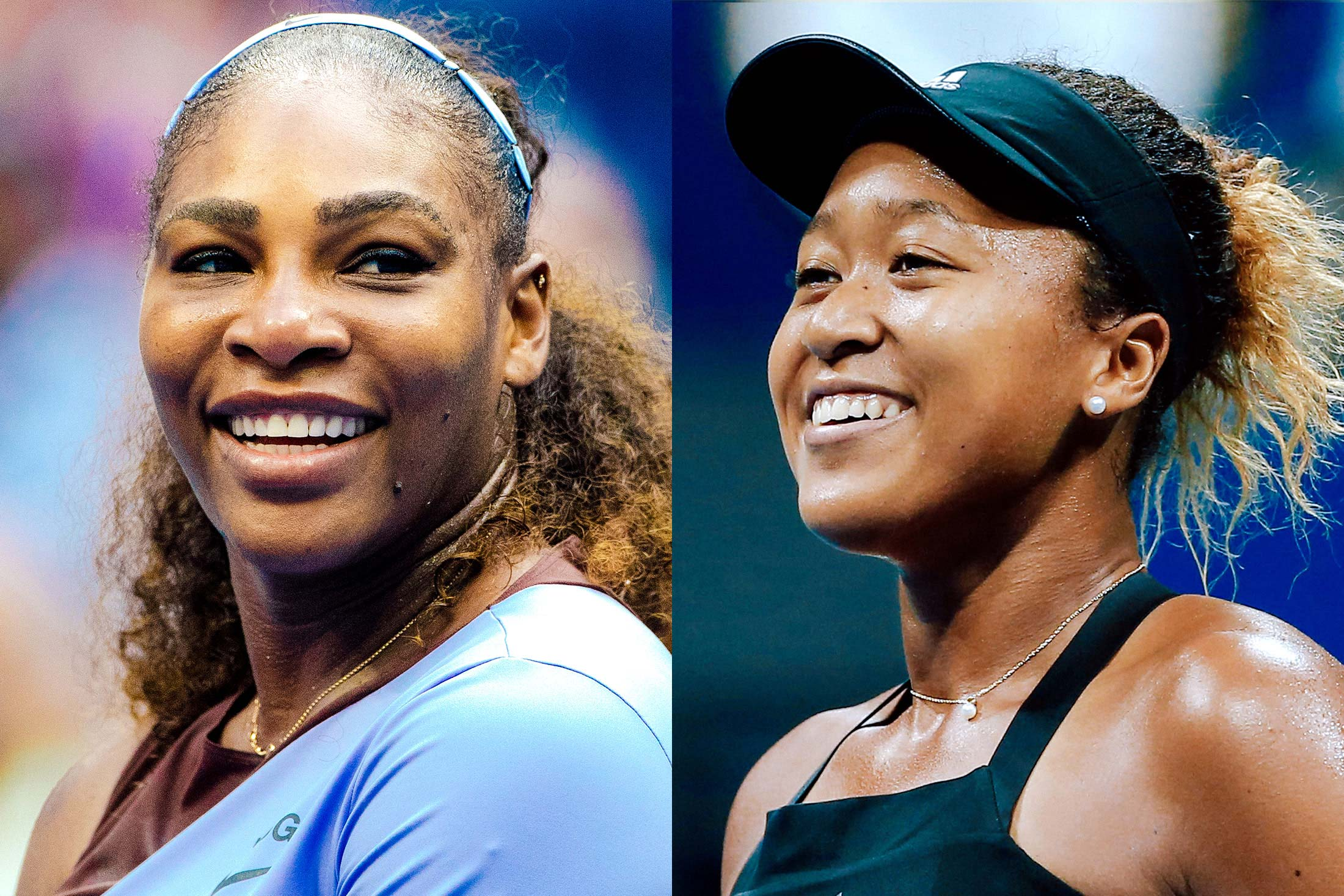 Serena Williams, Naomi Osaka.
