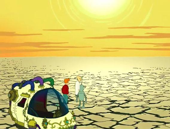 Futurama year one billion
