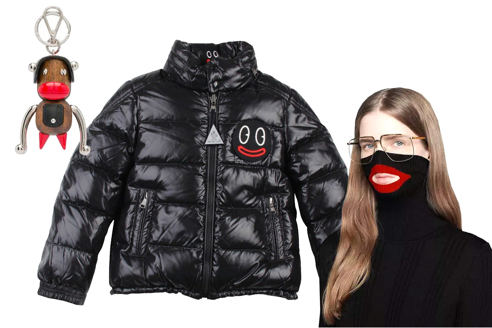 Recent examples of blackface in fashion.