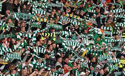 Celtic fans. Click image to expand.