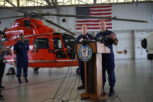 Coast Guard El Faro search