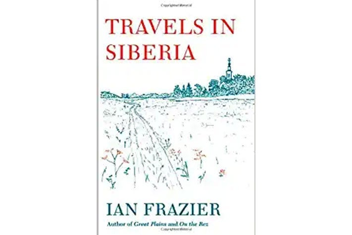 Travels in Siberia book cover.