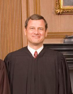Justice Roberts.