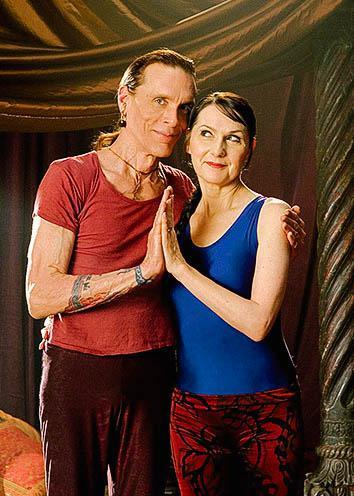 David Life and Sharon Gannon.