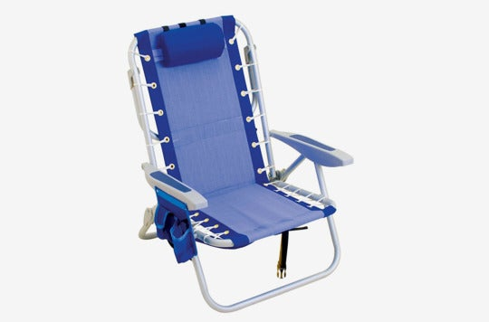 Rio Gear Ultimate Backpack Chair With Cooler.
