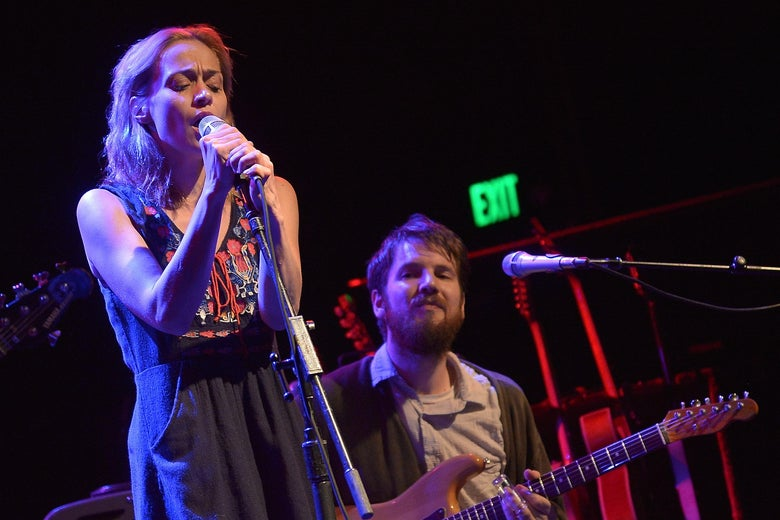 Fiona Apple performs at El Rey Theatre on Sept. 18, 2014 in Los Angeles, California.