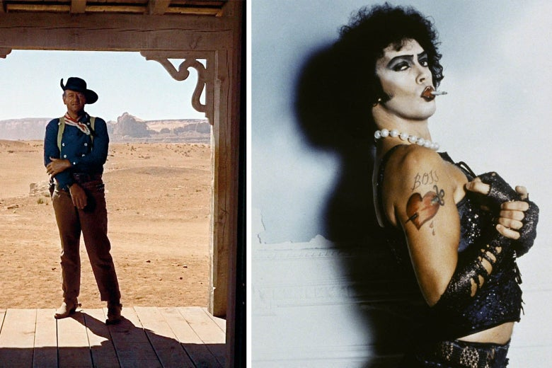 Picture Shows: Rocky Horror and The Searchers
