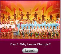 Click here to launch a slide show on Day 3: Why Leave Changle?