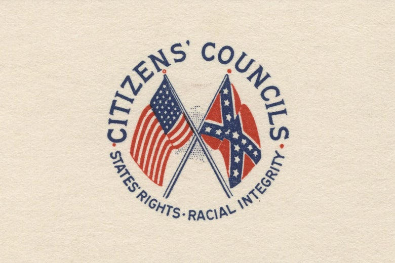 The logo of the Citizens' Councils.