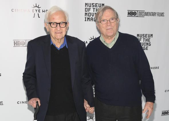 Al Maysles and D.A. Pennebaker