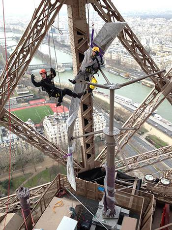 Eiffel Tower now has its own wind turbines  [PHOTOS]