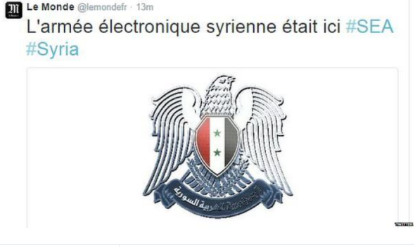 Syrian Electronic Army hacks Le Monde Twitter feed