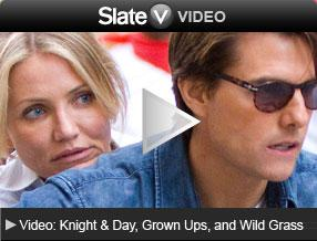 Video Reviews of: Knight & Day, Grown Ups, and Wild Grass. Click image to launch video player.