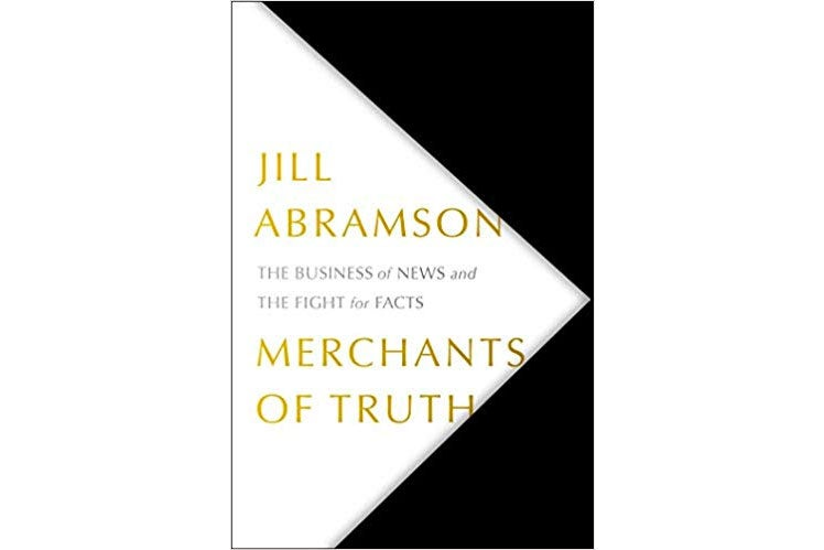 Merchants of Truth book cover.
