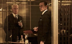 Roger Sterling and Don Draper
