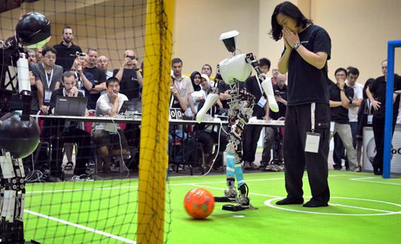 RoboCup 2011.