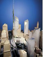 """Libeskind's """"winning"""" entry.         Click image to expand."""