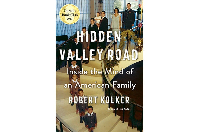 The cover of Hidden Valley Road.