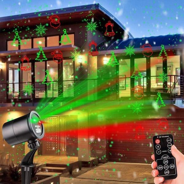 Mimiviva Christmas Laser Lights Outdoor Projector
