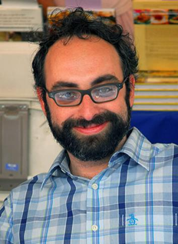 Gary Shteyngart at the Los Angeles Times Festival of Books.