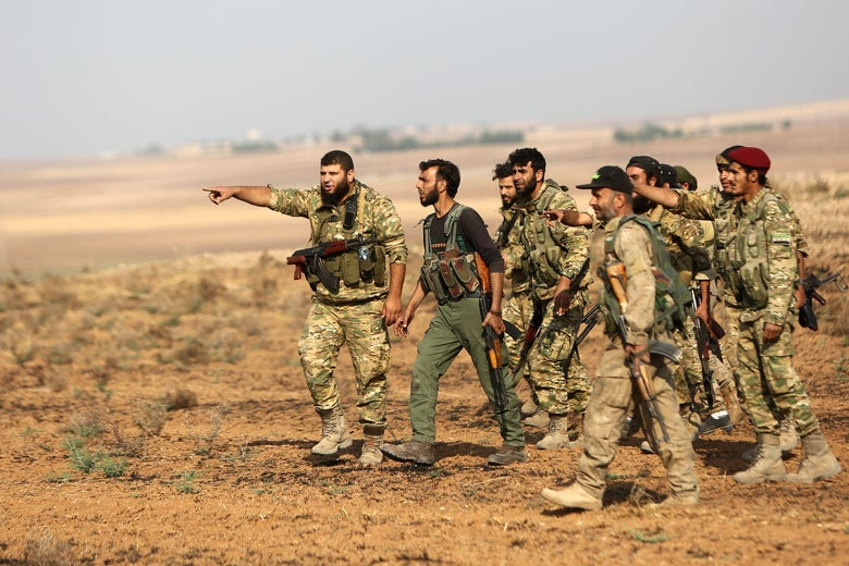 After Betraying the Kurds, the U.S. Isn't Leaving Syria After All
