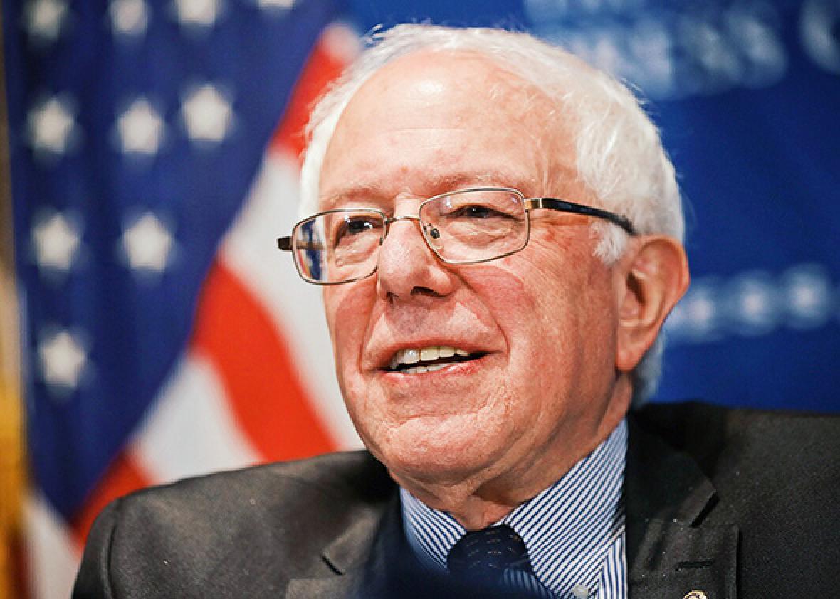 U.S. Sen. Bernie Sanders