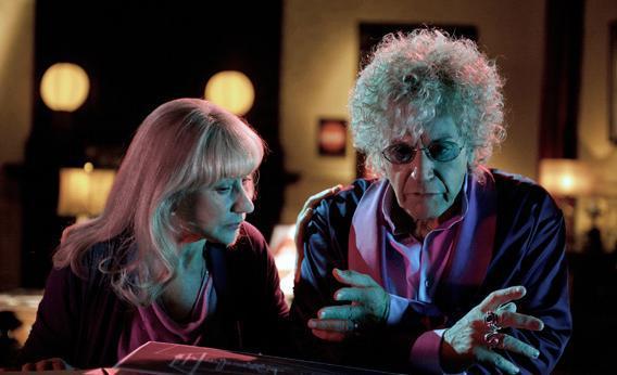 Helen Mirren and Al Pacino in Phil Spector.