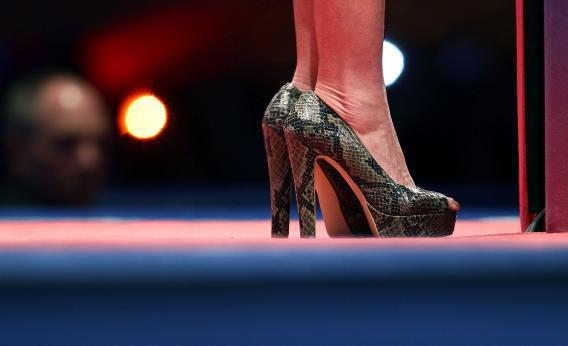 Sarah Palin's shoes.