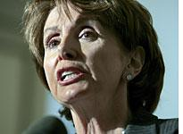 House Minority Leader Nancy Pelosi. Click image to expand.