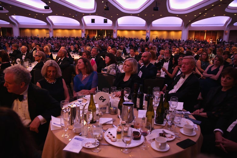WASHINGTON, DC - APRIL 29:  2017 White House Correspondents' Association Dinner at Washington Hilton on April 29, 2017 in Washington, DC.  (Photo by Tasos Katopodis/Getty Images)
