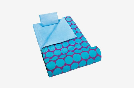 Wildkin Children's Original Sleeping Bag With Pillowcase and Storage Bag.