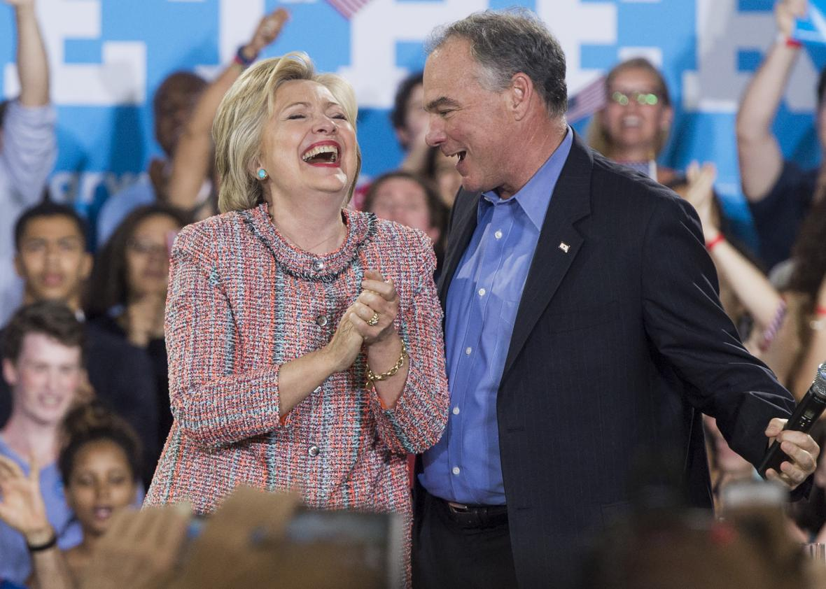 By Picking Anti-Abortion Tim Kaine, Hillary Is Testing Feminists' Loyalty