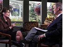 Sarah Palin and Charles Gibson. Click image to expand.