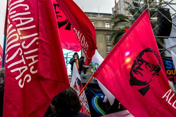 Socialista Allendista flags