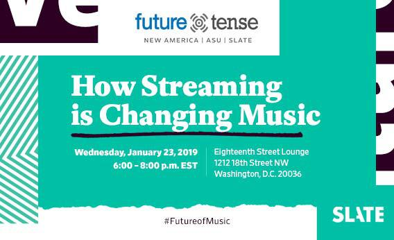 Future Tense DC: How Streaming is Changing Music