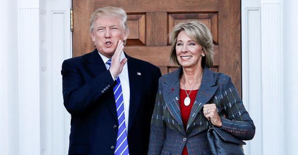 Trump & DeVos