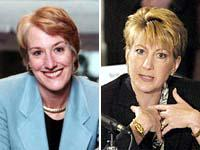 Seeing double? Mulcahy and Fiorina