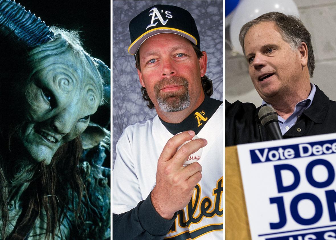 Doug Jones the actor, Doug Jones the athlete, Doug Jones the politician.