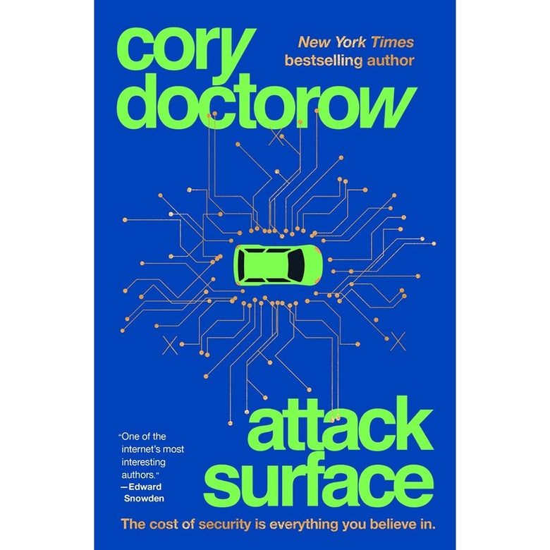 Book cover of Attack Surface.