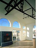 Interior of an Ironworks loft
